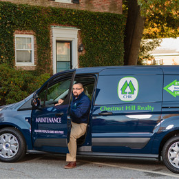 Chestnut Hill Realty Maintenance Truck