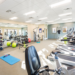Water View Terrace Fitness Center
