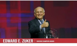 Ed Zuker Honored with 2020 Housing Champion Award