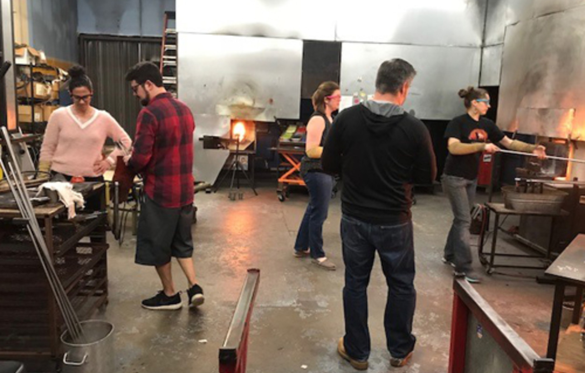 Glassblowing Event