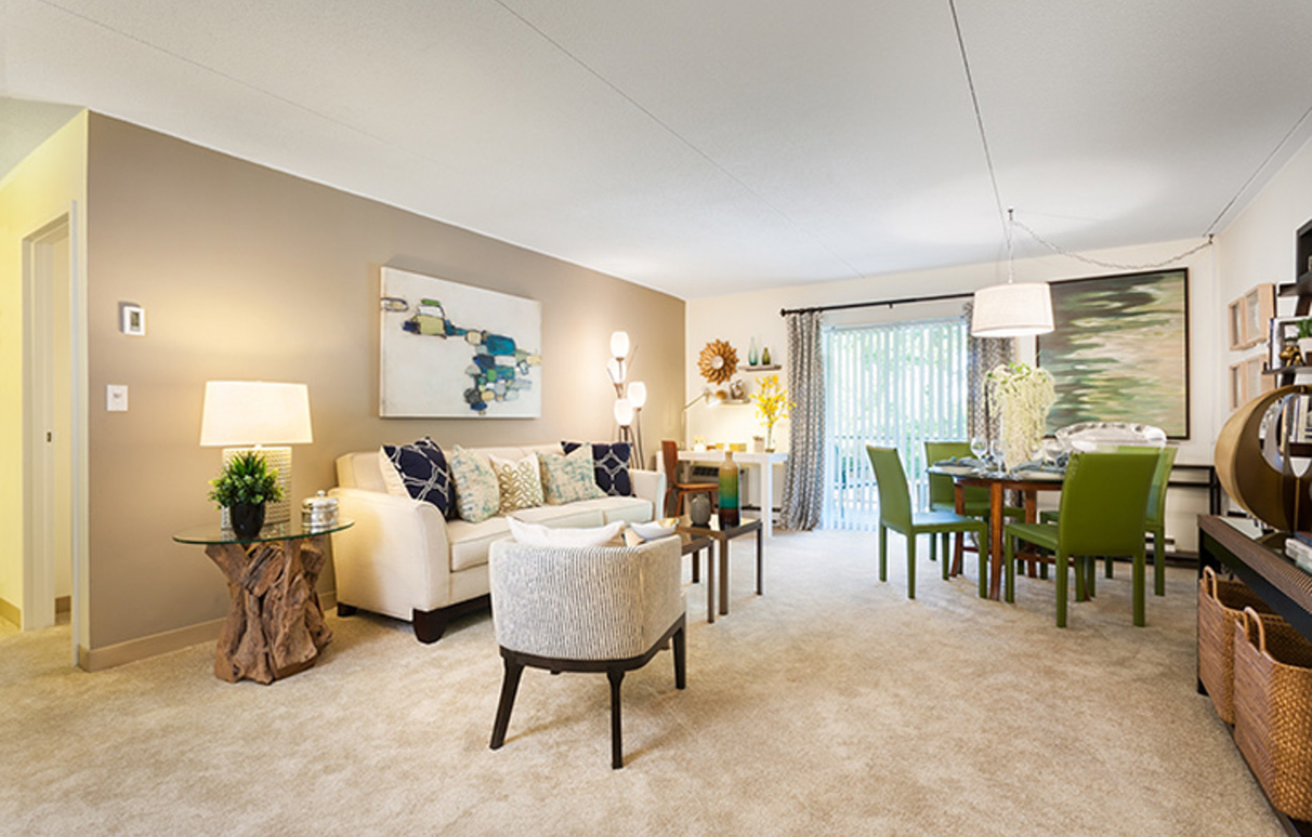 Berkeley Style Living/Dining Room