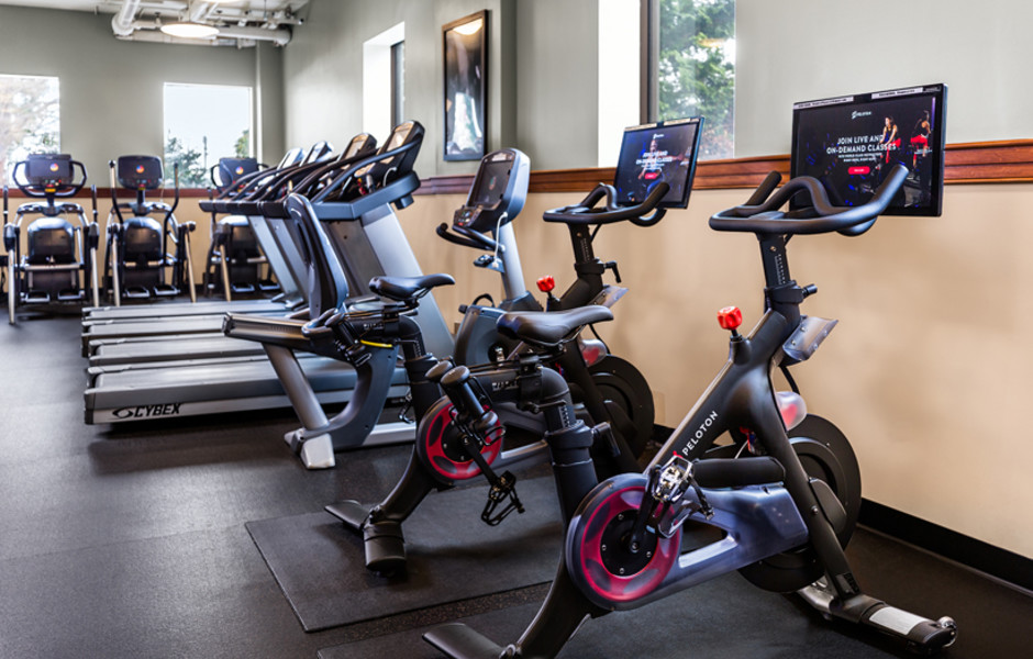 Fitness Center – Peloton Bike Station