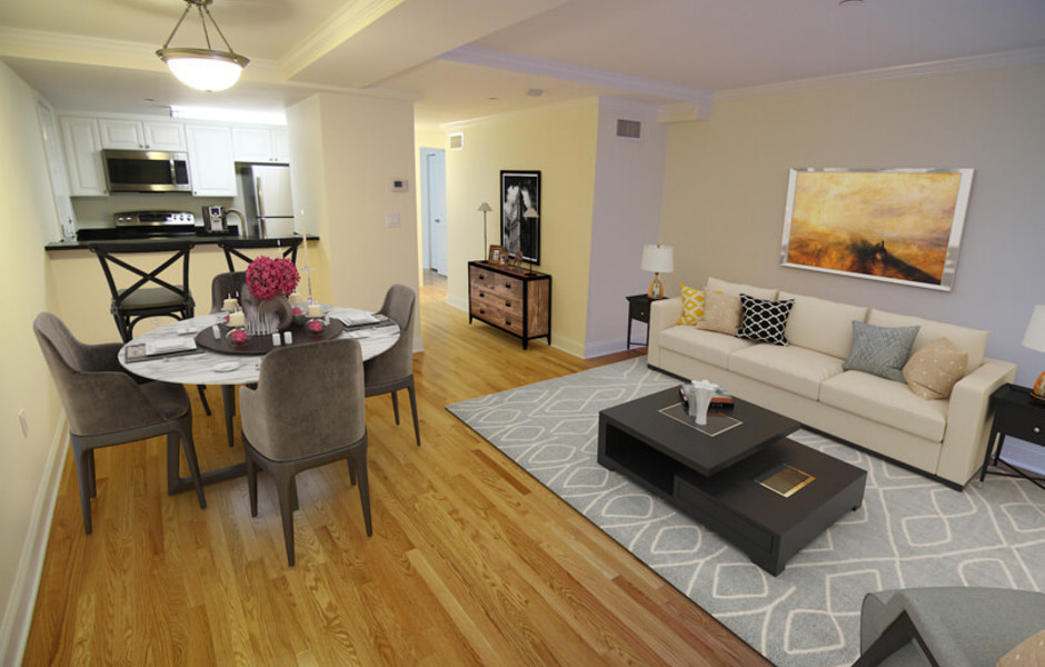 Wendell Terrace - Living and Dining Room