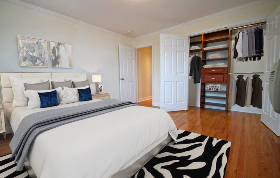 Brattle Arms - Master Bedroom
